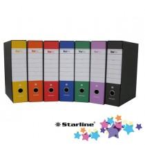 Registratore STARBOX f.to protocollo dorso 8cm arancio STARLINE-sfuso