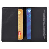 HIDENTITY Doppio 95x60mm per bancomat -carta di credito NERO Exacompta