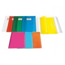 Coprimaxi PVC goffrato trasparente Emysilk c-alette 21x30cm giallo RiPlast