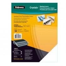100 COPERTINE CLEAR PVC 240MIC A4 TRASPARENTE NEUTRO