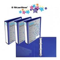 Raccoglitore KingShow 25 A4 4D blu 22X30cm personalizzabile STARLINE
