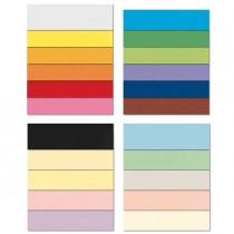 Conf.10 cartoncino Bristol Color 200gr 100x70cm azzurro 55 Favini