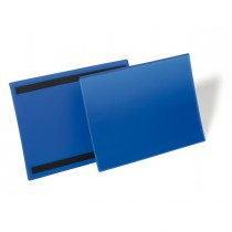 50 buste identificazione magnetiche 150x67mm art.1742 Blu DURABLE