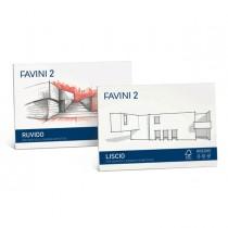 ALBUM FAVINI 2 33X48CM 110GR 10FG LISCIO