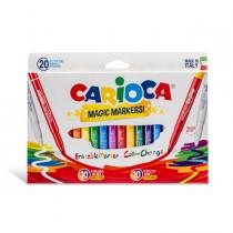 Astuccio 20 pennarelli Magic Markers colori assortiti CARIOCA
