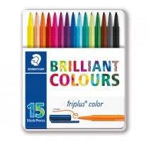 Astuccio 15 Triplus Color pennarello punta 1,00mm colori assortiti Staedtler