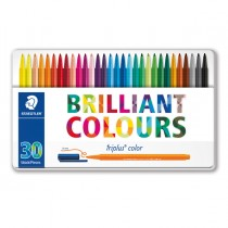 Astuccio 30 Triplus Color pennarello punta 1,00mm colori assortiti Staedtler