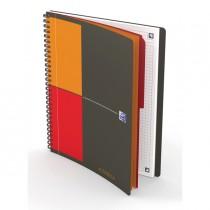Blocco spiralato 18X25cm 80fg 80gr International Notebook OXFORD