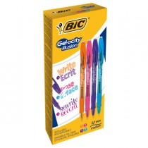 Scatola 12 penna sfera gel cancellabil GELOCITY ILLUSION 0,7 col. ass.fun BIC