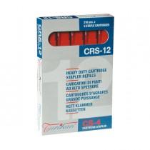 5 caricatori da 210 punti CRS-12 mm rosso (fino a 80 fogli) Turikan