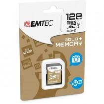 SDXC EMTEC 128GB CLASS 10 GOLD _