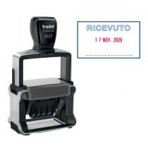 Timbro Professional 4.0 5460-PR4-L1 DATARIO _ RICEVUTO autoinchiostrante TRODAT