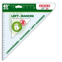 Squadra 45° - 30cm per mancini ARDA