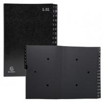 Classificatore numerico 1-31 Ordonator per A4 nero 25x33cm Exacompta