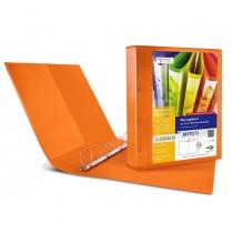 Raccoglitore MYTO TI 17 A4 4D 22x30cm arancio personalizzabile SEI ROTA