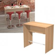 Tavolo alto 160x70xH105cm Faggio Ristoro
