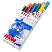 Astuccio 10 marcatori 750 punta media vernice colori assortiti Edding