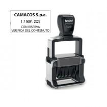 Timbro Professional 4.0 5460 DATARIO 56x33mm personaliz autoinch. TRODAT