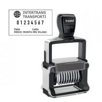 Timbro Professional 4.0 55510-PL NUMERATORE 10 colonne 5mm autoinch. TRODAT