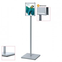 Display Catching Pole Standard A4 Bifacciale