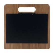 Porta menU' Chopping Board in legno con anelli 32,7x30cm Securit