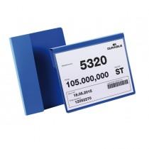 50 buste identificazione con aletta 210x148mm (A5-oriz) 1722 Blu Durable