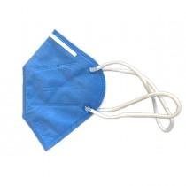 Mascherine blu FFP3 pieghevole s-valvola imb.singolarmente