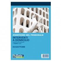 Blocco Interventi a domicilio del cliente 50-50copie autor. DU16577C000