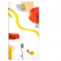 PortamenU' F.to 18x31,6cm Linea Spaghetti - bianco