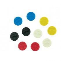 10 Magneti Ø24mm colori assortiti Nobo