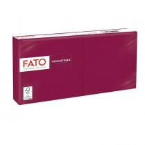 100 tovaglioli carta 25x25cm 2 Veli Bordeaux Fato