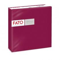 50 tovaglioli carta 40x40cm color bordeaux Linea Airlaid Fato