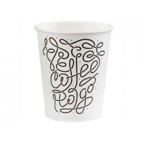 50 Bicchieri in carta Coffee to go 350ml Dopla Green art.07838