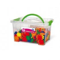 Bauletto 420pz fiorincastri in plastica colori assortiti Cwr