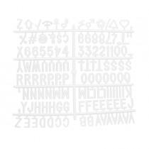 Kit lettere aggiuntive per bacheche in feltro Securit