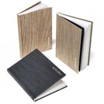 Quaderno editoriale Colorosa Wood dim. 13x18cm rigatura 5mm col. ass. Ri.Plast