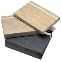 Cartella portaprogetto Colorosa Wood dim. 29x34cm dorso 7cm col. ass. Ri.Plast