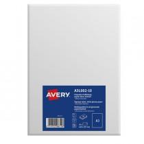 Etichette A3 in carta bianca lucida rimovibile (1et-fg) 10ff Avery