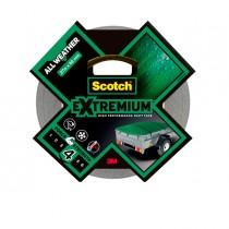 Nastro adesivo EXTRA resistente alte temperature 48mmx27,4m nero Scotch