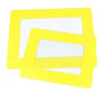 """confezione 10 Segnaletiche adesive da terra """"Finestra"""" 40,1x31,4cm Tarifold"""