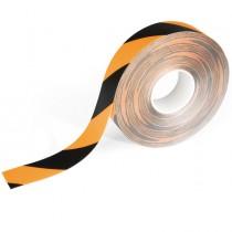 Nastro adesivo rimovibile per segnalazioni da terra 50mmx15m giallo-ner Durable