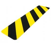Striscia segnaletica da terra giallo-nera 610x150mm Tarifold