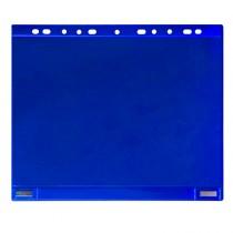 Conf. 5 Buste forate per supporti magnetici ad anelli f.to A4 blu Tarifold