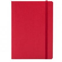 Taccuino c-elastico EcoQua rosso f.to A5 80pag. carta bianca Fabriano