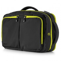 Borsa zainabile bi-bag Blackout dim. 44x28x18cm nero-giallo 9235BO26 INTEMPO
