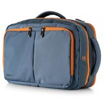 Borsa zainabile bi-bag Blackout dim. 44x28x18cm blu-arancio 9235BO3123 INTEMPO