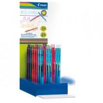 Expo penna scatto Super Grip G - 48 pezzi - punta M - colori assortiti - Pilot