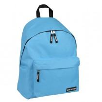 Zaino Scuola Basic 30x40x15cm azzurro Lebez