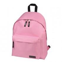 Zaino Scuola Basic 30x40x15cm rosa Lebez