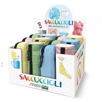Expo 12 astuccio Saccuccioli Basic Pastel colori e forme assortiti Lebez